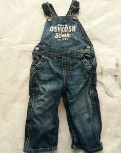 Oshkosh 12 Mos overalls